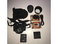 Nikon D3000 DLSR & Accessories