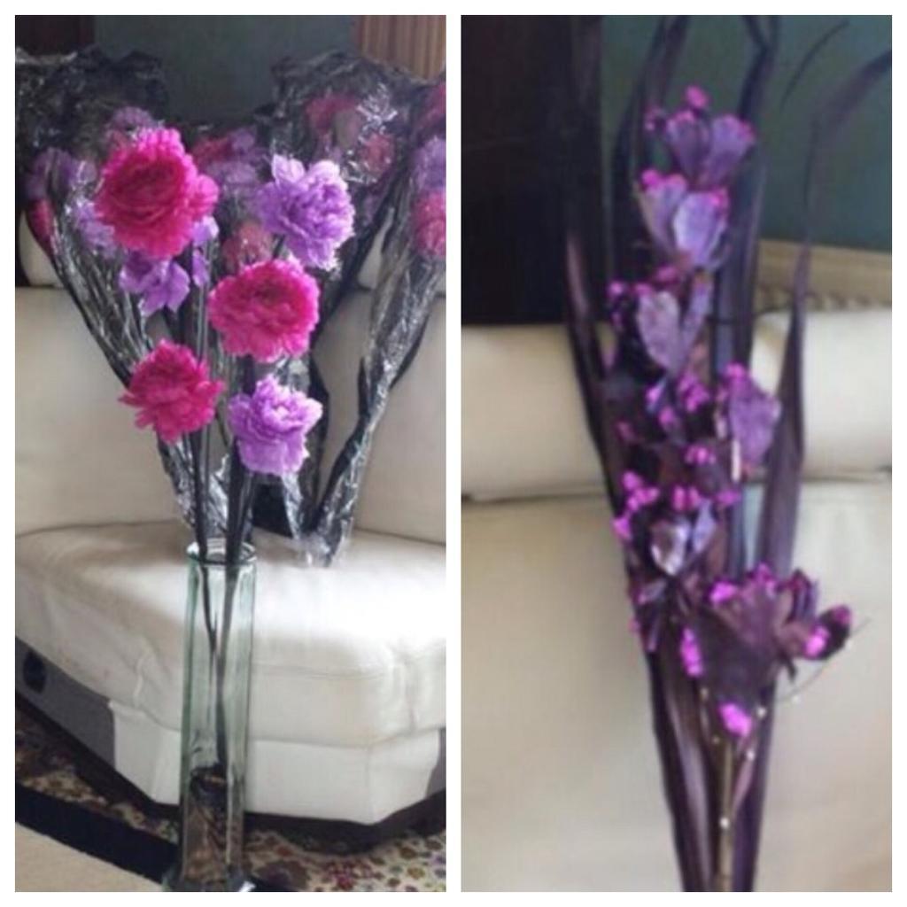 Next artificial flowers pink lilac purple flower arrangement next artificial flowers pink lilac purple flower arrangement mightylinksfo