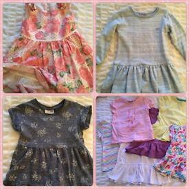 Toddler girls clothes bundle 2-3