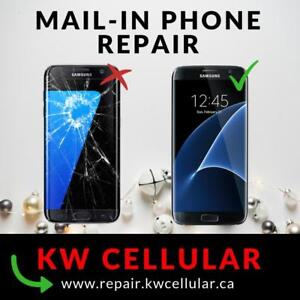 Mail-In Cell Phone Repair Services. Canada-Wide! Get an exclusive price at KW Cellular!
