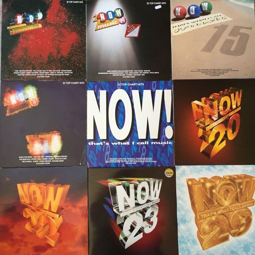 Job Lot vinyl NOW THAT\'S WHAT I CALL MUSIC original LPs 13-29 SET ...