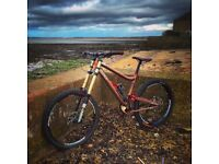 2011 Sunn Radical Finest DH Bike