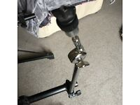 Roland rack cymbal stand mount with clamp for Electric electronic kit