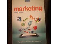 Marketing (fourth edition) by paul baines, chris fill and sara rosengren