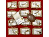 Luxury handmade soap, 12 bar selection for Mothers' Day?