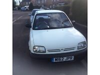 Nissan Micra 998cc Auto 3 Door Hatch above average condition for age with new mot APRIL 2017