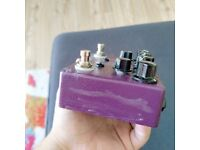 Analog Man King of Tone overdrive guitar pedal effect - rare
