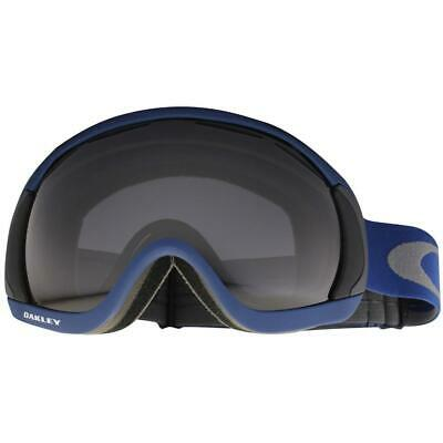 Oakley 59-143 Canopy Medieval Navy Blue w/ Dark Grey Lens Snow Ski Goggles . for sale  Shipping to Canada