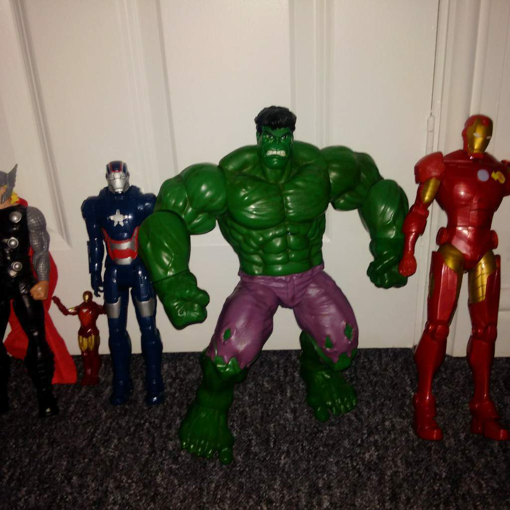 marvel figures 18in