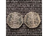 Rare Kew Garden 50p for Limited time!