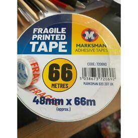 Fragile Printed Adhesive Tape