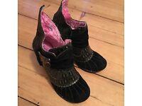 Irregular Choice Heels/Boots
