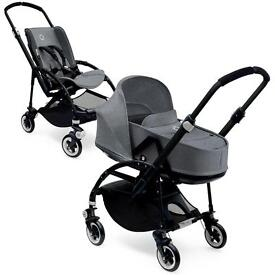 Bugaboo Bee - carrycot and pushchair