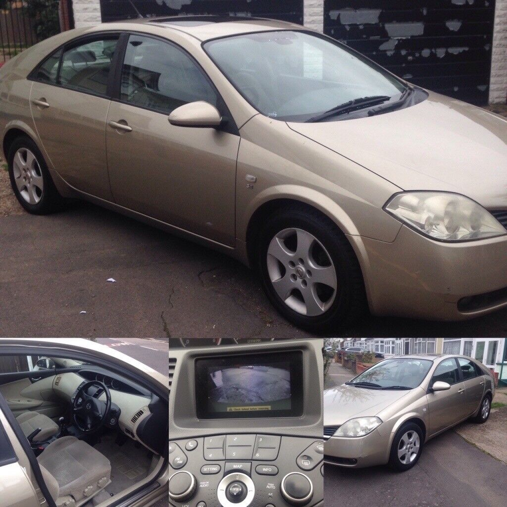 53 Nissan Primera, diesel 2.0 66000miles, ALL old MOTs to prove Milage,