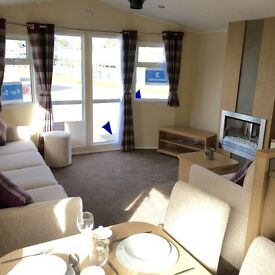 BRAND NEW CARAVAN FOR SALE AT SANDY BAY (NORTHUMBERLAND) 2017 SITE FEES INCLUDED, FINANCE AVAILABLE