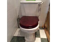 Elegant white toilet for sale