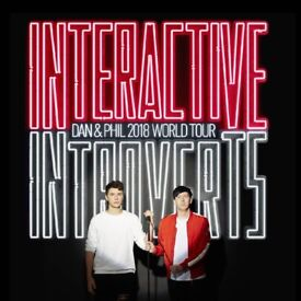 Dan and Phil's 2018 World Tour - Interactive Introverts x 2 Tickets (Liverpool) Sunday 13th May