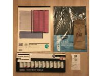 Art Supplies Set (Acrylic Paints Set, Paper + Brushes)