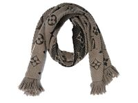 Authentic Louis Vuitton Designer Wool Silk Scarf Monogram 31x160cm Verone Italy BNWT