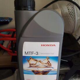 Honda transmission oil 2X
