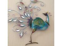 Wall art Peacock