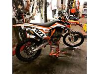 Ktm 350 2015 fully loaded IT A MUST SEE not Kxf Crf Yzf rmz