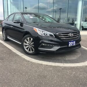 2015 Hyundai Sonata SPORT 2.4L FWD - SUNROOF, TINTED WINDOWS, BL