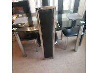 Dining table and chairs for sale £25