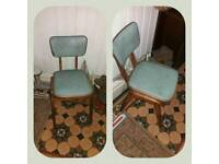 mid century childs chair
