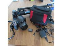 Sony DSC H400 superzoom digital camera + accessories - full kit