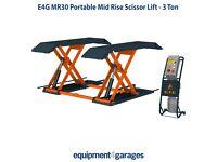Brand New Portable Mid-Rise Scissor Lift – 3 Ton E4G MR30