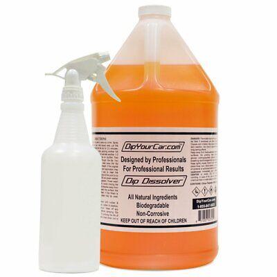 Dip Dissolver Remover Liquid Wrap Plasti Dip Peelable Paint 1 Gallon