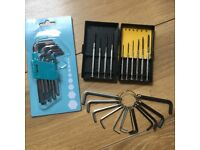 Screwdriver Sets (Mini & Normal) (3 sets for £1)