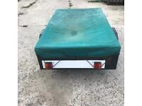 Wooden trailer 6ft by 4ft