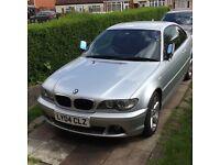 BMW 318 CI SEMI-AUTO 2004 FACELIFT CRYSTAL FOGLIGHTS HEATED SEATS TINTED WINDOWS M SPORTS STEERING