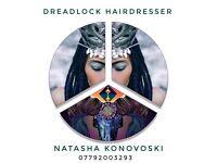 DREADLOCK Hairdresser : WHATSAPP: +447792003293 - FREE Consultation