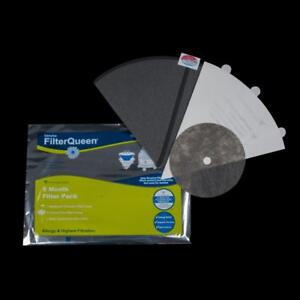Queen Cone 6 Month Bundle With Medipure Hepa One Medipure Cone, Six Filter Cones One Disc Filter