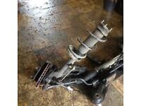 Ford transit mark7 fwd strut and hub compleet