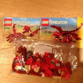 3 sets of lego creator 3 in 1