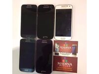 SAMSUNG GALAXY S4 MINI IMMACULATE CONDITION COMES WITH WARRANTY AND ALL ACCESSORIES