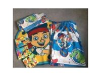 Jake neverland bedroom bundle curtains rug canvas bedding