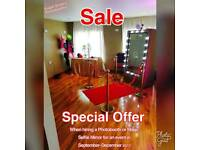 SALE on Magic Mirror & Photobooth Hire, London Kent Essex