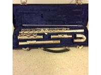 Blessing flute with case.
