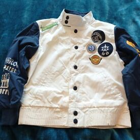 New Boys Jacket - Italian Designer 5-6yrs