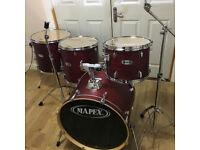 Fully Refurbished Mapex V Series 4 Piece Drum Kit