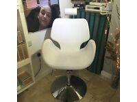 White Threading/ Brow/ Lash Chair