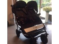 Mountain Buggy Duet v2 Stroller (Black) & Accessories - Excellent Condition