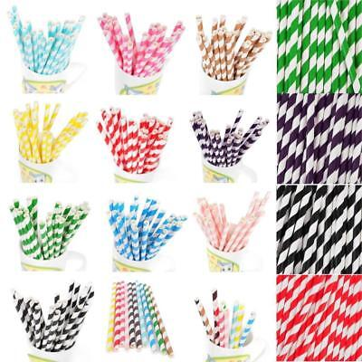 25PCS Gold Drink Paper Straws Birthday Party Supplies Theme Polka Baby Shower - Baby Shower Themes Party Supplies