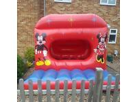 MICKY AND MINNIE MOUSE CASTLE AND SOFT PLAY £150 FULL PACKAGE..and many more themes!
