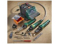 Plasplug Workshop Garden Tool Sharpener, American plug 110-120 volts
